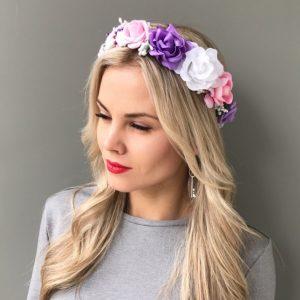 Венок на голову Фиолет