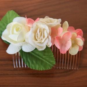 Гребень для волос молочно-розовый