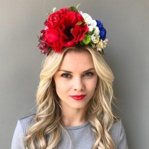 Украинский венок для волос