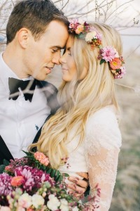 свадебные прически с ободком
