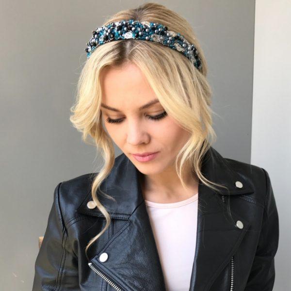 Ободок диадема для волос в стиле D&G