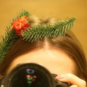 Ободок для волос на Новый Год