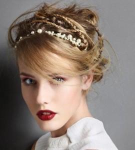 Обруч для волос под вечерний наряд - платье