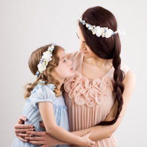 Веночки для мамы и дочки