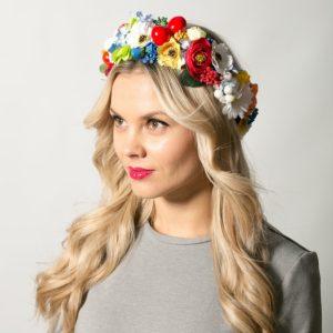 Украинский венок на голову